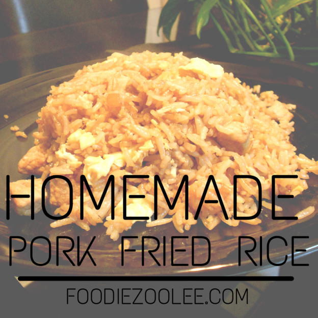 Homemade Pork Fried Rice