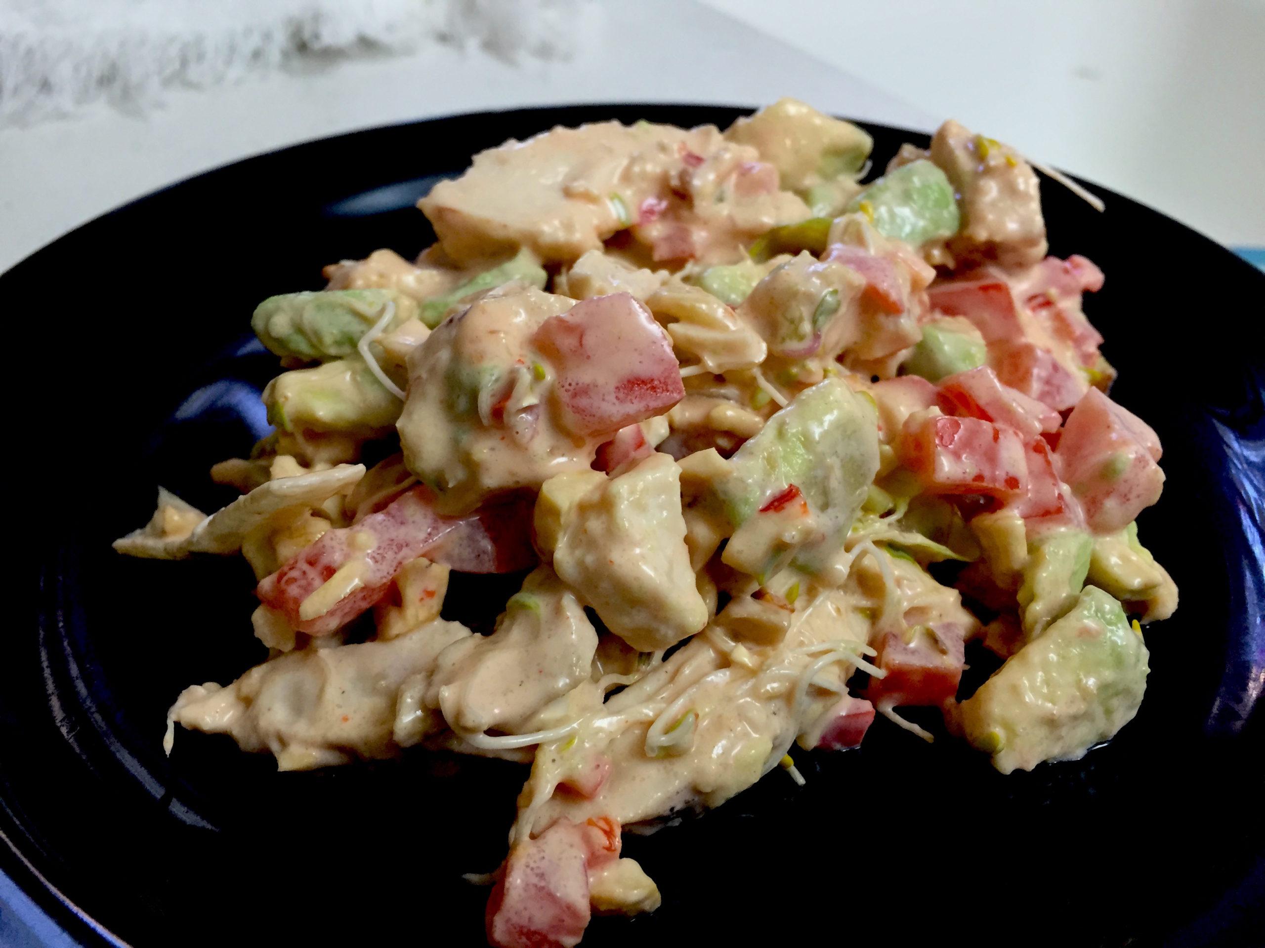 Basil Cashew Chicken Salad Foodie Zoolee