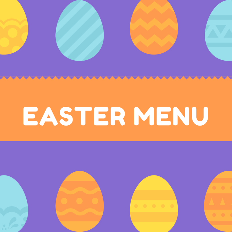 The perfect easter dinner menu foodie zoolee for Restaurants serving easter brunch near me
