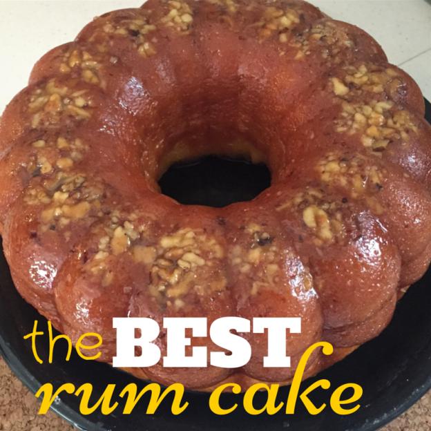best rum cake recipe