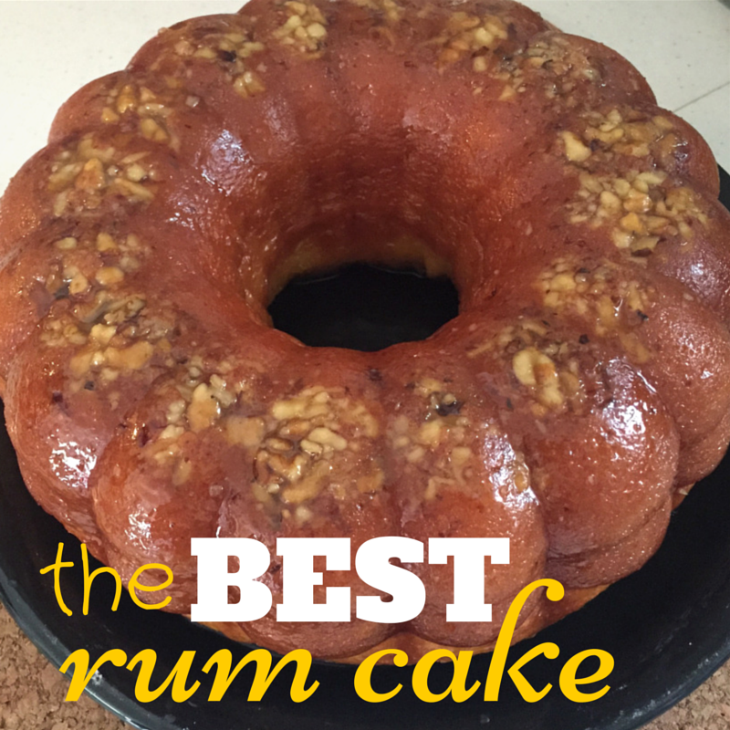 The BEST Rum Cake | Foodie Zoolee