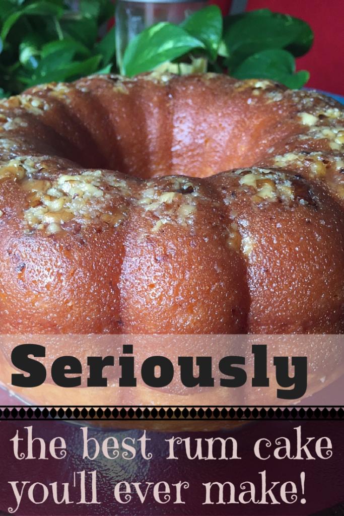 The BEST Rum Cake | Foodie Zoolee