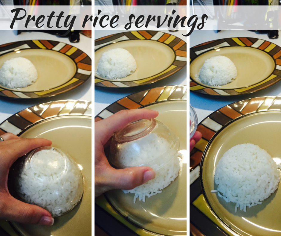 Pretty rice servings - foodiezoolee