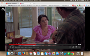Screen Shot Gilmore Girls on Netflix