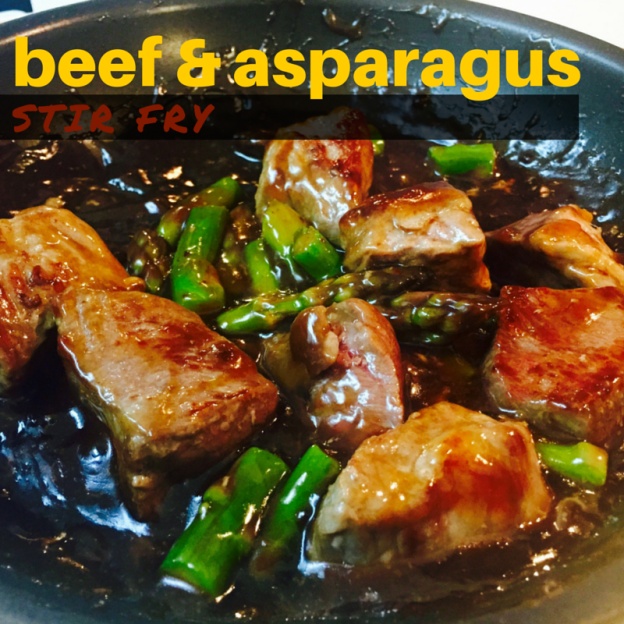 beef and asparagus recipe