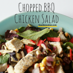 Chopped BBQ Chicken Salad by foodiezoolee