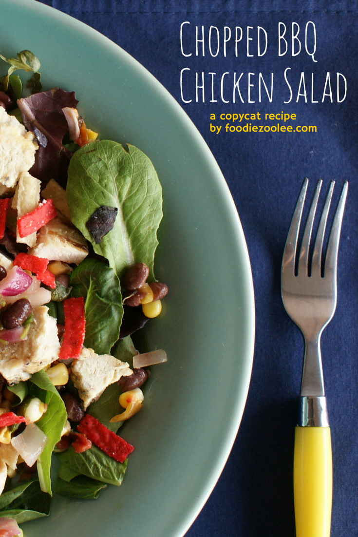 Chopped BBQChicken Salad pin1