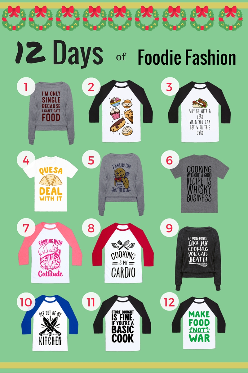 Foodie Fashion Tees