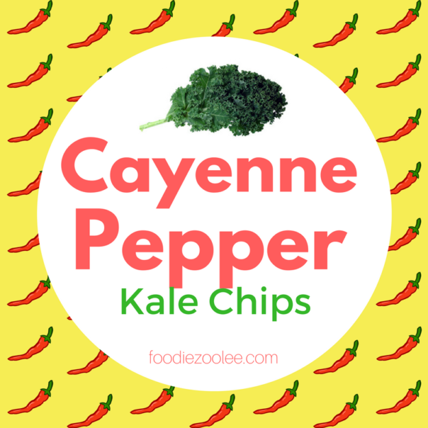 Cayenne Pepper Kale Chips