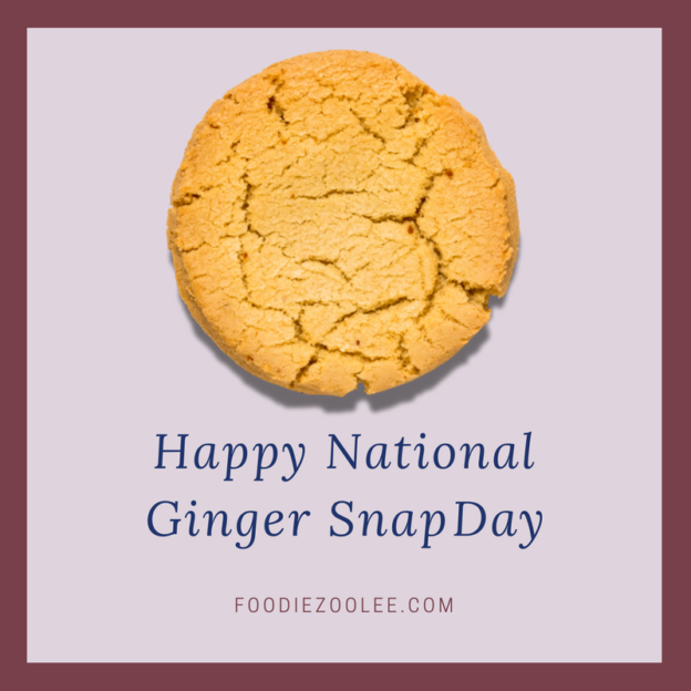 National Ginger Snap Day